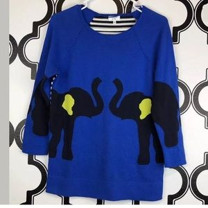 Crown & Ivy Elephant Sweater
